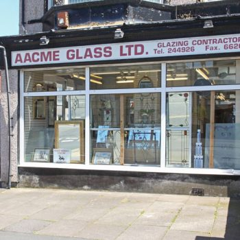 Visit Our glass Showroom in Newport