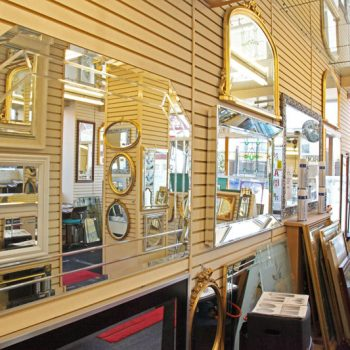 Mirror glass Newport Wales