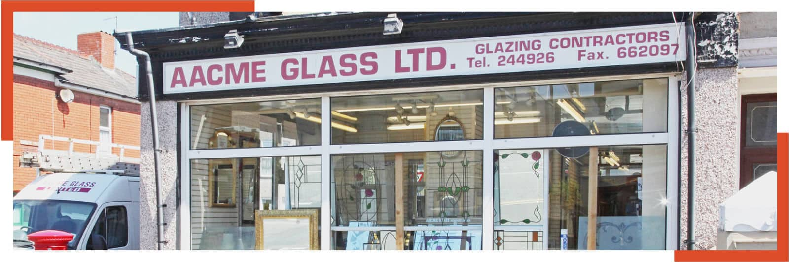 Contact Aacme glass Newport