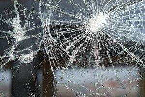 Laminated Glass Break