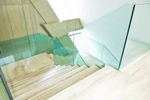 Are glass balustrades suitable for homes?