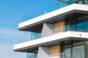 What is glass balustrade?